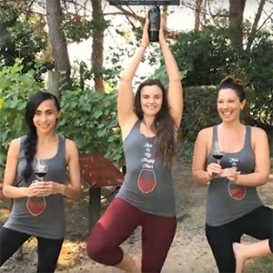 Try 'Vinyasa in the Vineyard' Next Time You're in Napa Valley!